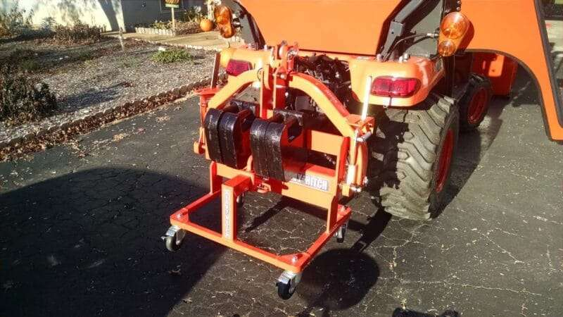 Suitcase-Weight-Cart-Trailer-Hitch-Tractor-Attachments