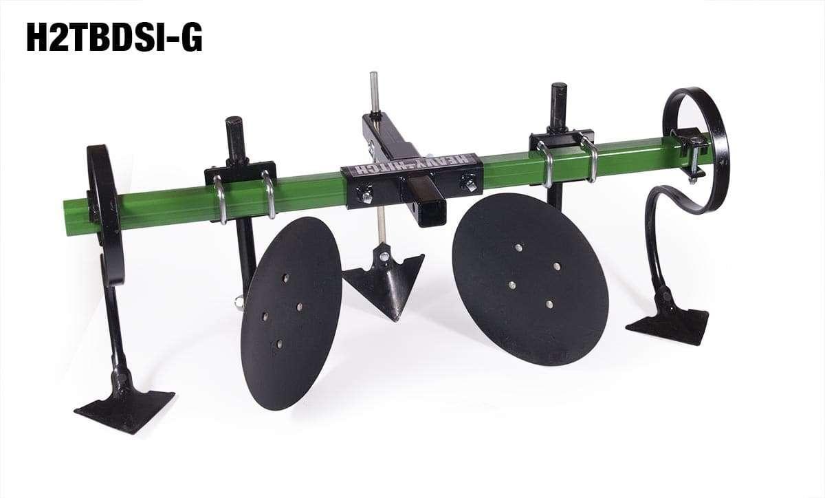 Garden Tractor Disc Attachments : Cultivator garden bedder hiller attachment