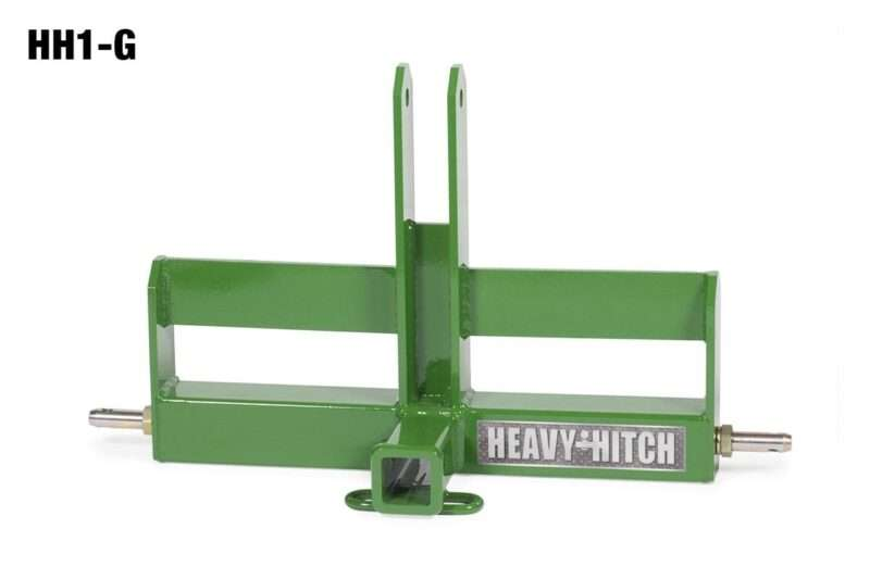 Category 1 Receiver Hitch and Suitcase Weight Bracket for 3 Point Hitch