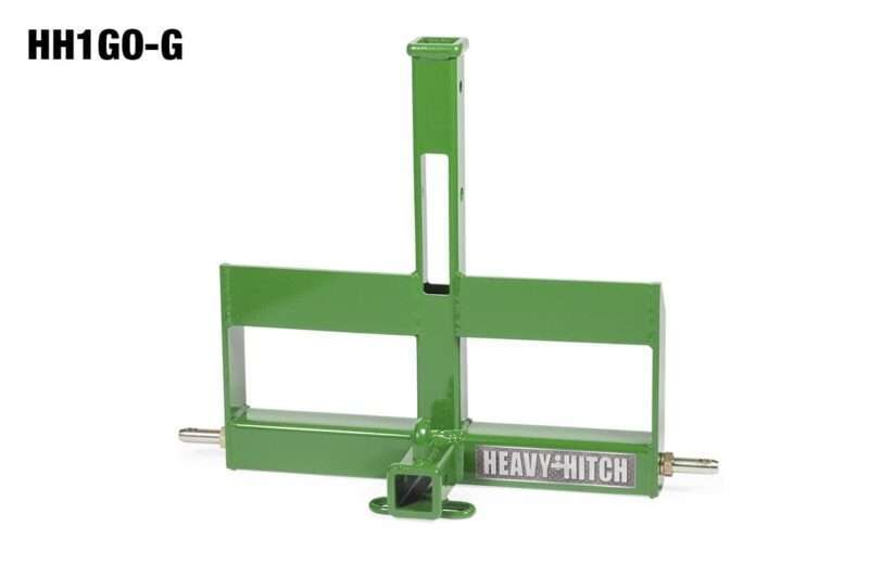 Category 1 Dual Receiver Hitch Suitcase Weight Bracket 3 Point Hitch Tractor