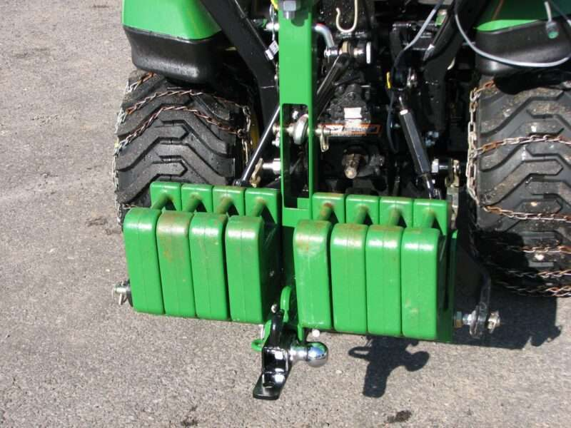 Category 1 Dual Receiver Hitch Suitcase Weight Bracket 3 Point Hitch