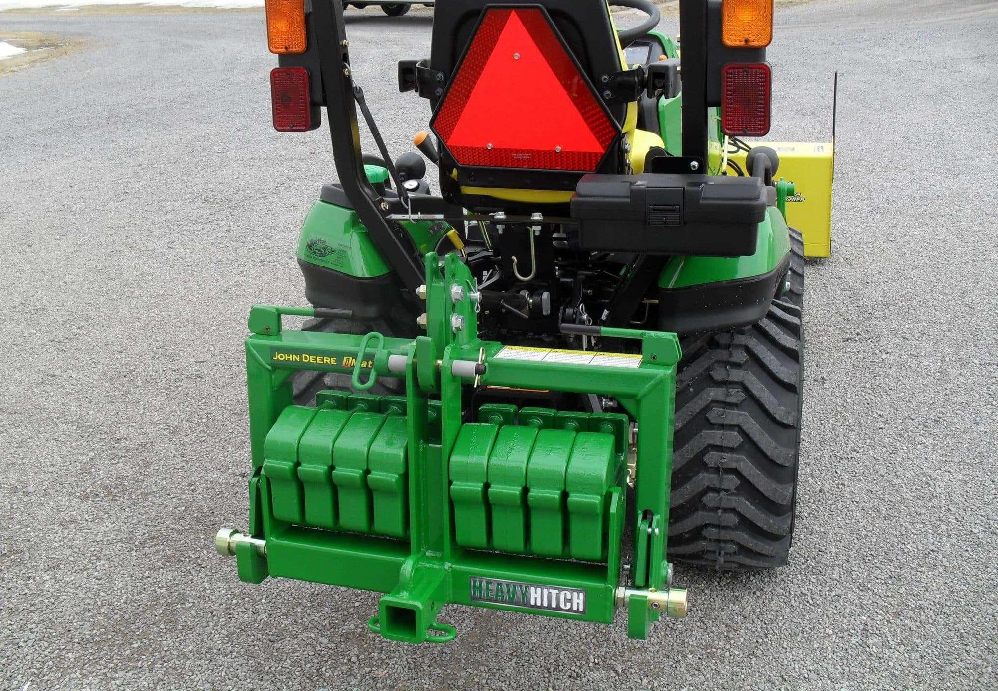 John Deere Garden Tractor Suitcase Weights