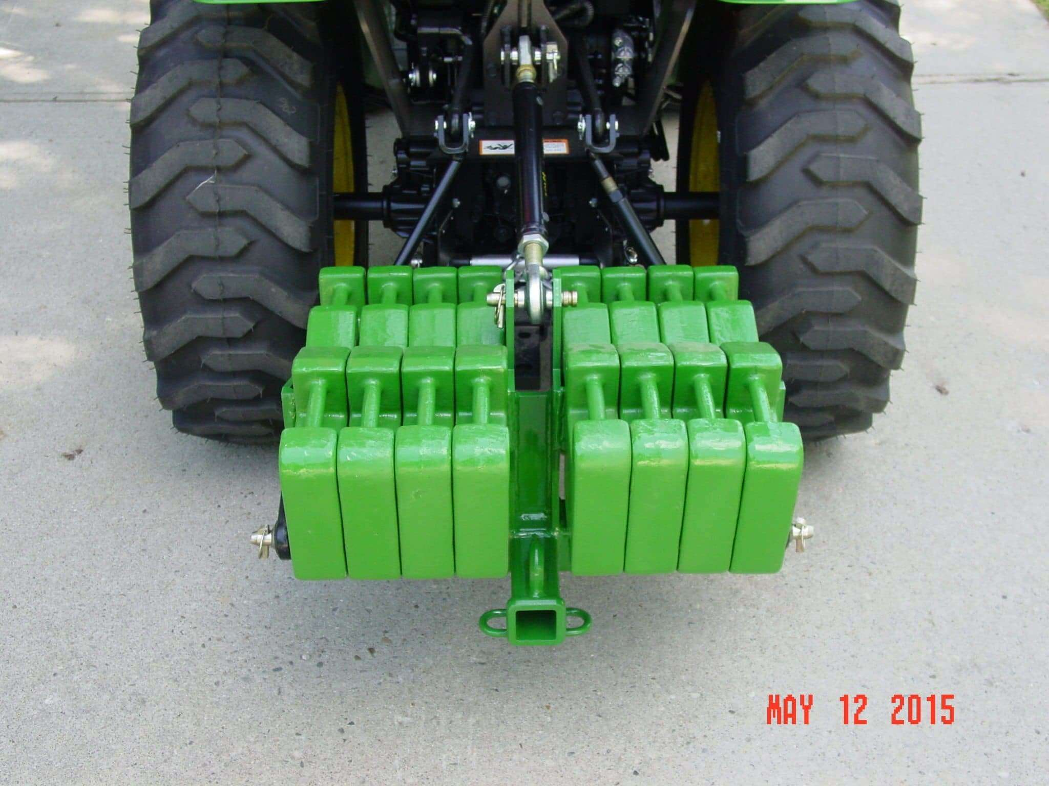 3 Point Weight Box : Category receiver hitch and dual suitcase weight bracket