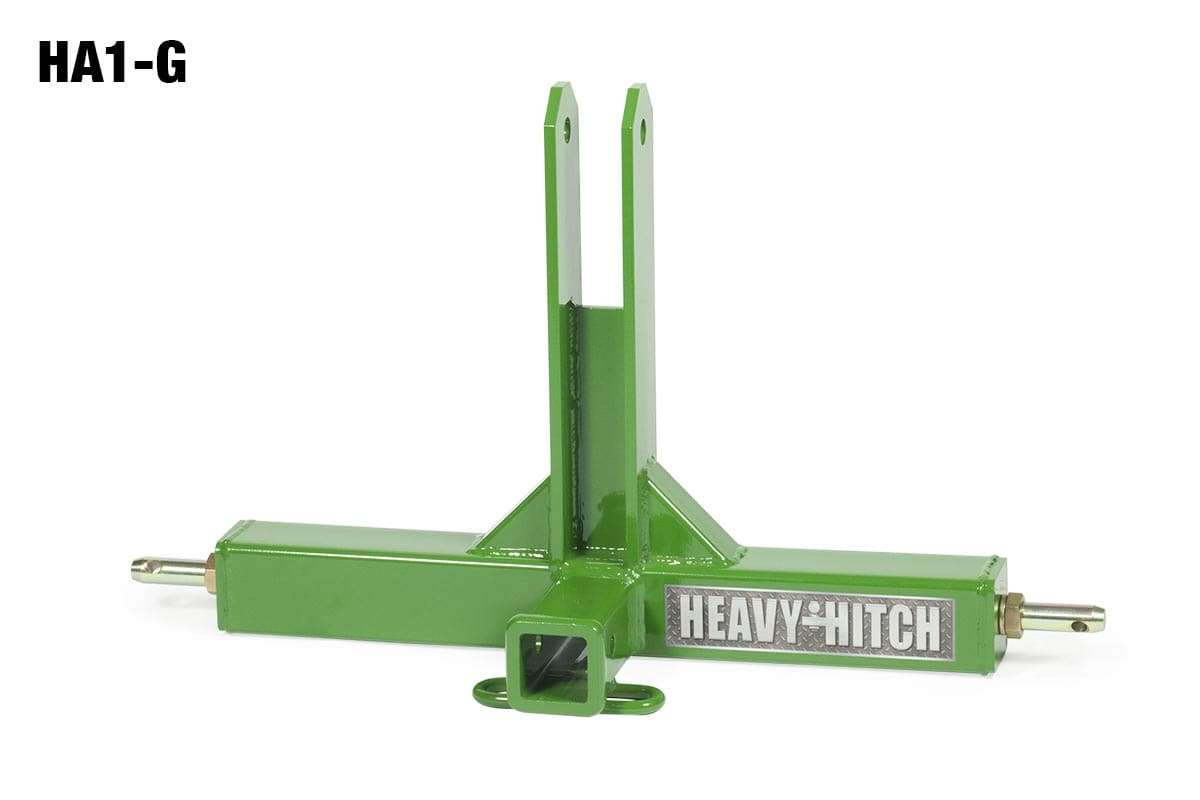 Category 1, 3 Point Hitch Receiver Adapter