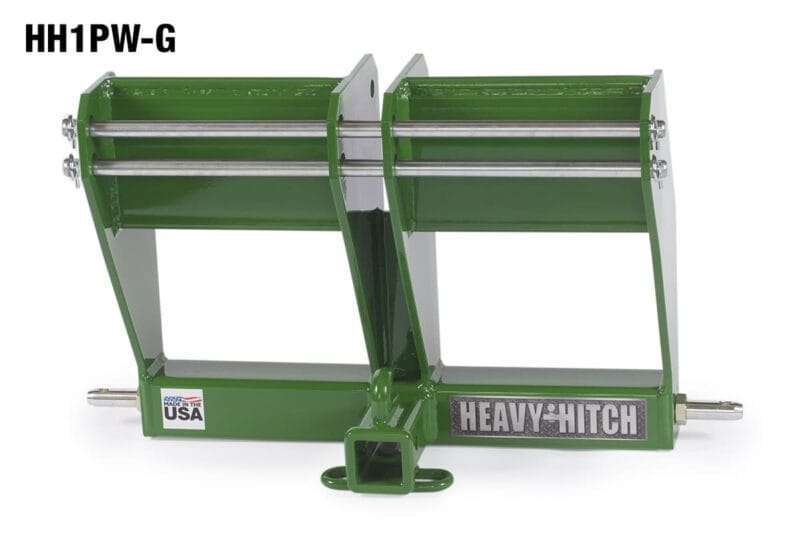 Hitch-category-1-tractor-attachment-receiver-bracket-drawbar