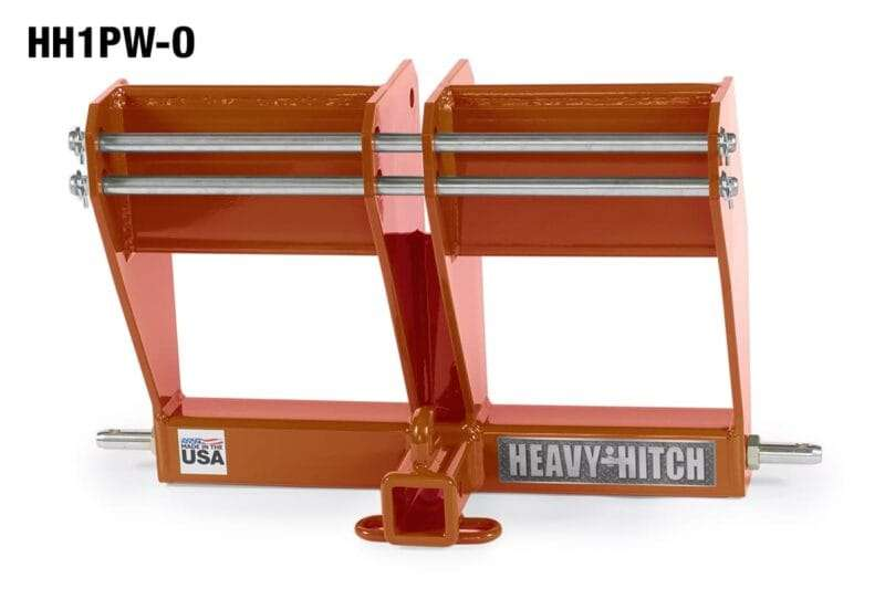 Tractor-hitch-category-1-receiver-drawbar-bracket