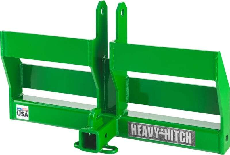 Category 2 Dual Weight Bracket Receiver Hitch angle