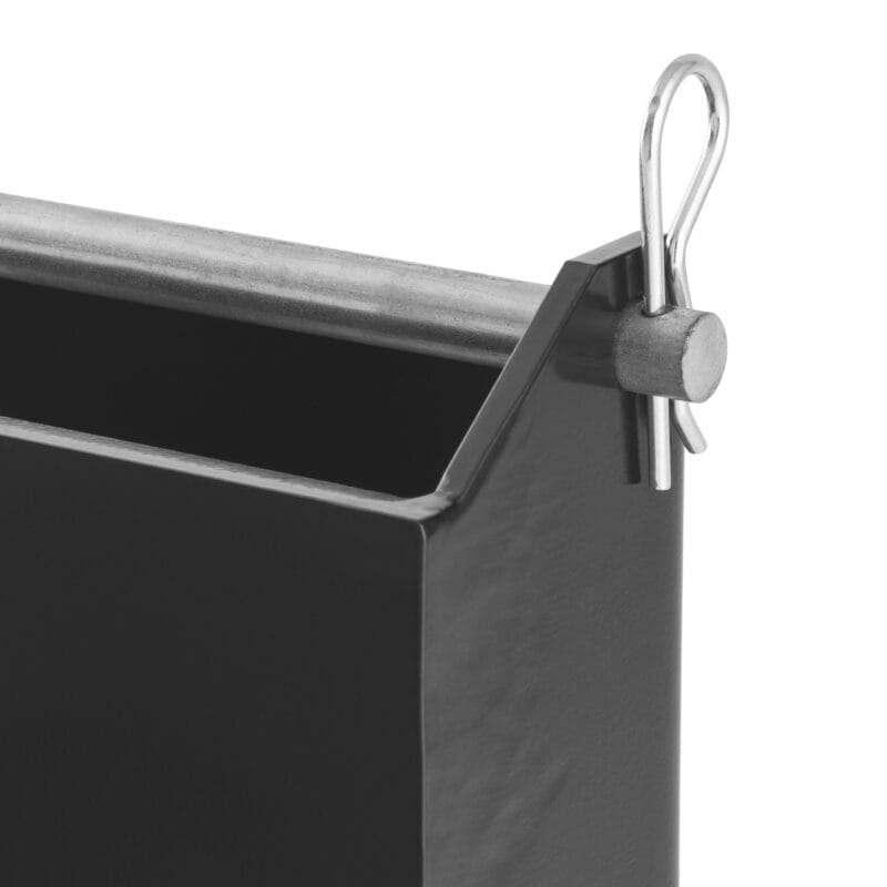 Heavy Hitch 6 suitcase weight bracket black