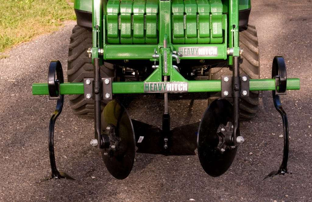 Heavy Hitch three point hitch with tiller attachments
