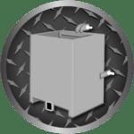 illustration of a ballast box